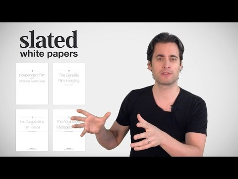 23. Filmonomics - Film Investing - The White Papers