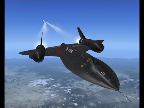 Battle Stations - SR-71 Blackbird Stealth Plane -