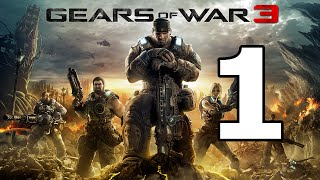 Gears Of War 3 Walkthrough Part 1 - No Commentary Playthrough (Xbox One)