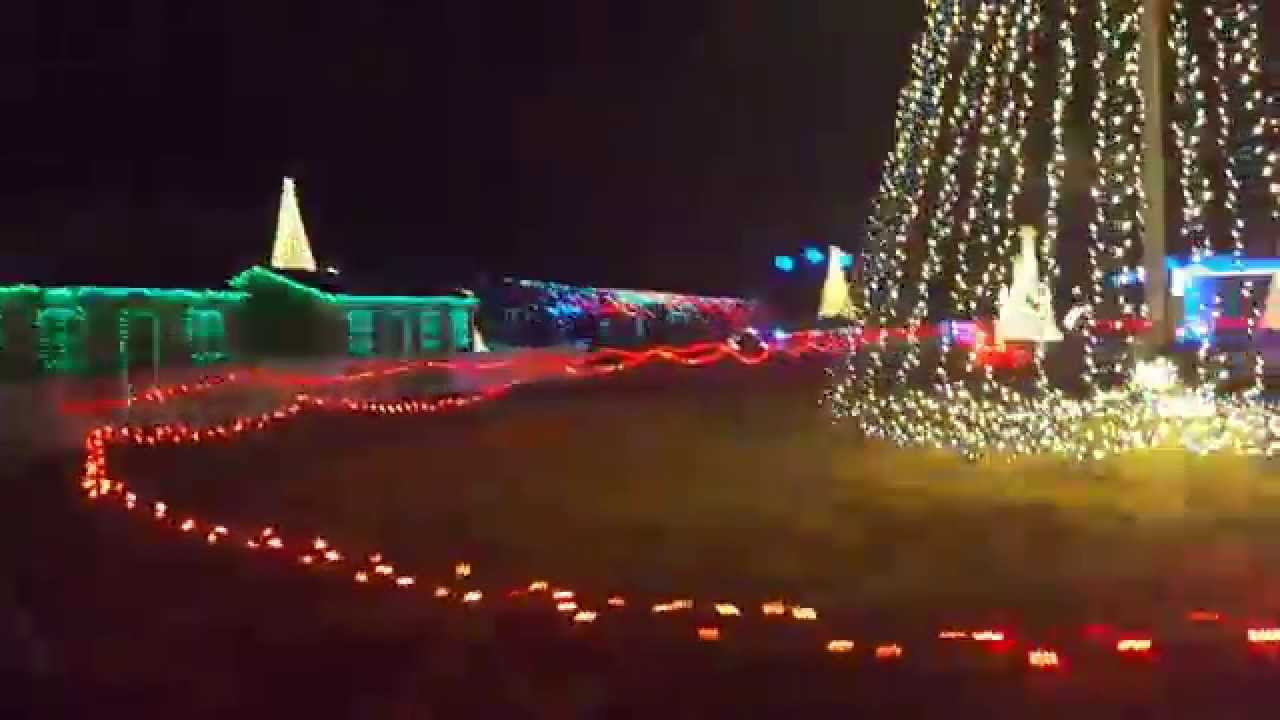 christmas in color utah lights show drive through
