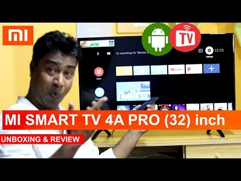 MI LED Smart TV 4A PRO 32 inch with Android - UNBOXING & REVIEW & INSTALLATION - Cheap & Best