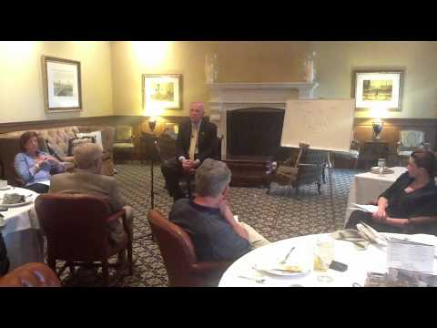 Dr. William Eickhoff Speaking On The 21 Laws Of Leadership By Dr. John Maxwell Part 1