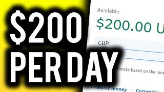 Earn $200 Per Day For FREE! - A Step By Step Guide To a BEGINNER FRIENDLY Method!