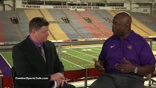 UNI AD David Harris - Aug. 2018 interview Panther Sports Talk (1 of 3)