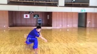 中国四川省成都体育学院の宋選手の表演です。