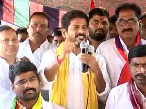 Revanth Reddy Speech CPM  Mahajana Pada Yatra At NagarKurnool