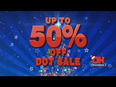 Up To 50% Off Dot Sale At OK Furniture