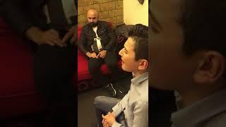 حازم الصدير من داخل ستديو الداعور Talal Daour - Hazem Al Sadir