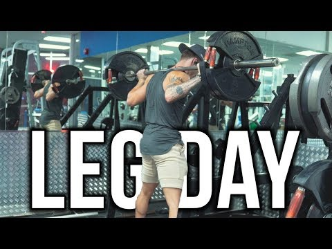 Full Leg Day (TRY THIS WARMUP!)