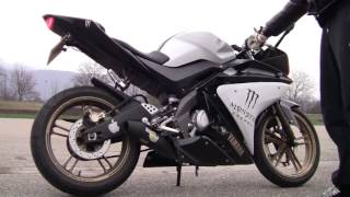 Yamaha YZF R 125 sound-check