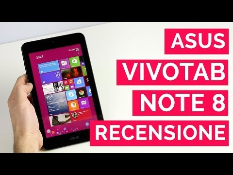 Recensione ASUS VivoTab Note 8 - Review [english subs]
