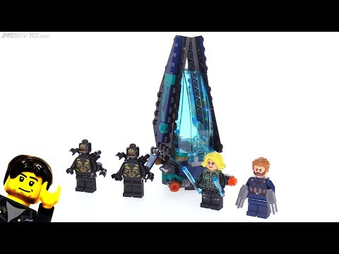 LEGO Avengers Infinity War Outrider Dropship Attack review! 76101