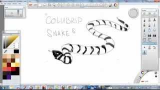 How i draw Snakes