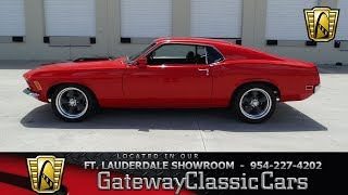 536-FTL 1970 Ford Mustang