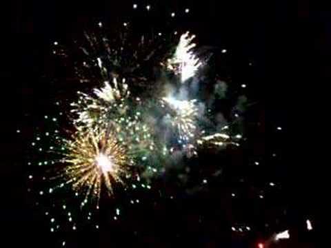 Dearborn MI Homecoming fireworks 07