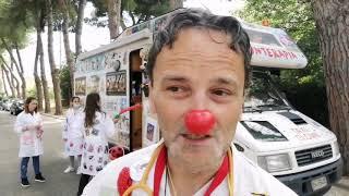"""Taxi di Paciok a Vasto: """"La Clownterapia è anche riabilitazione psico-fisica"""""""