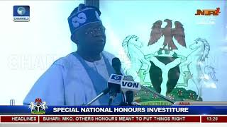 25 Years After, Buhari Honours Late MKO Abiola With Posthumous GCFR Nat'l Award Pt.11