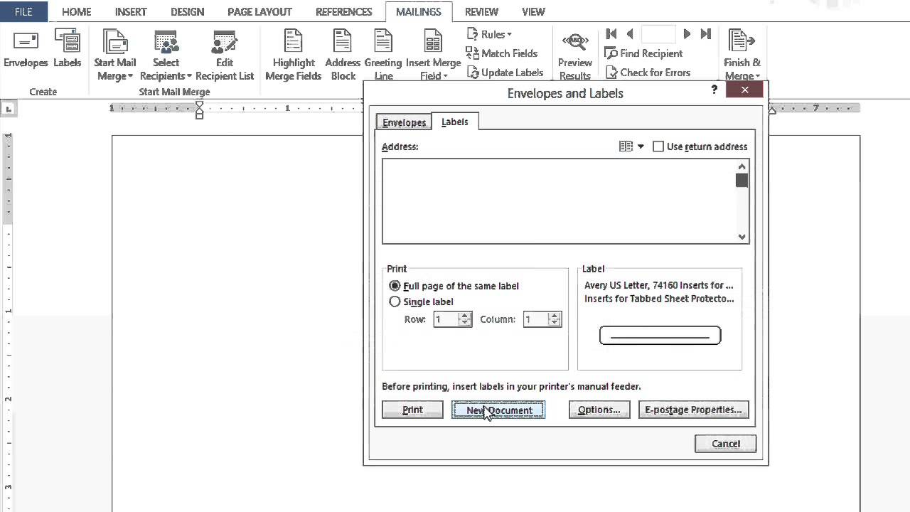 How To Set Up Microsoft Word Documents To Create Tabs Dividers