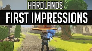 First Impressions - Hardland (PC Gameplay) - Early Access