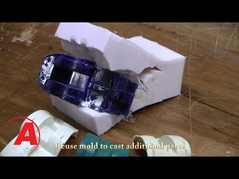 How To Mold a Chassis: Molding & Casting Tutorial  - Alumilite