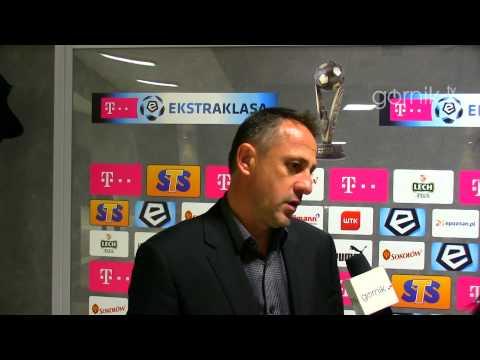 Robert Warzycha o meczu z Lechem Poznań (10.05.2014)