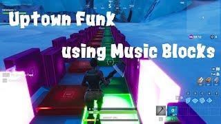 Uptown Funk - Fortnite Music Blocks Version