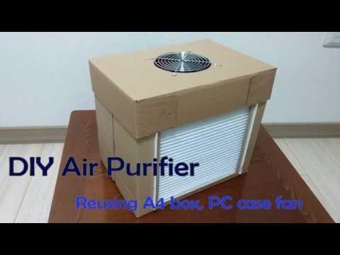 Diy Air Filtration System Homemade Air Purifier S