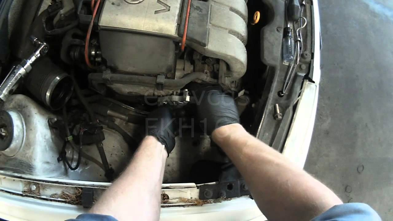 maxresdefault vw a3 vr6 replacing broken serpentine belt & tensioner youtube