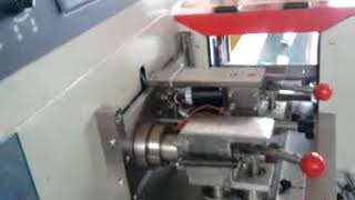 automatic disposable toothbrush pillow type packing machine