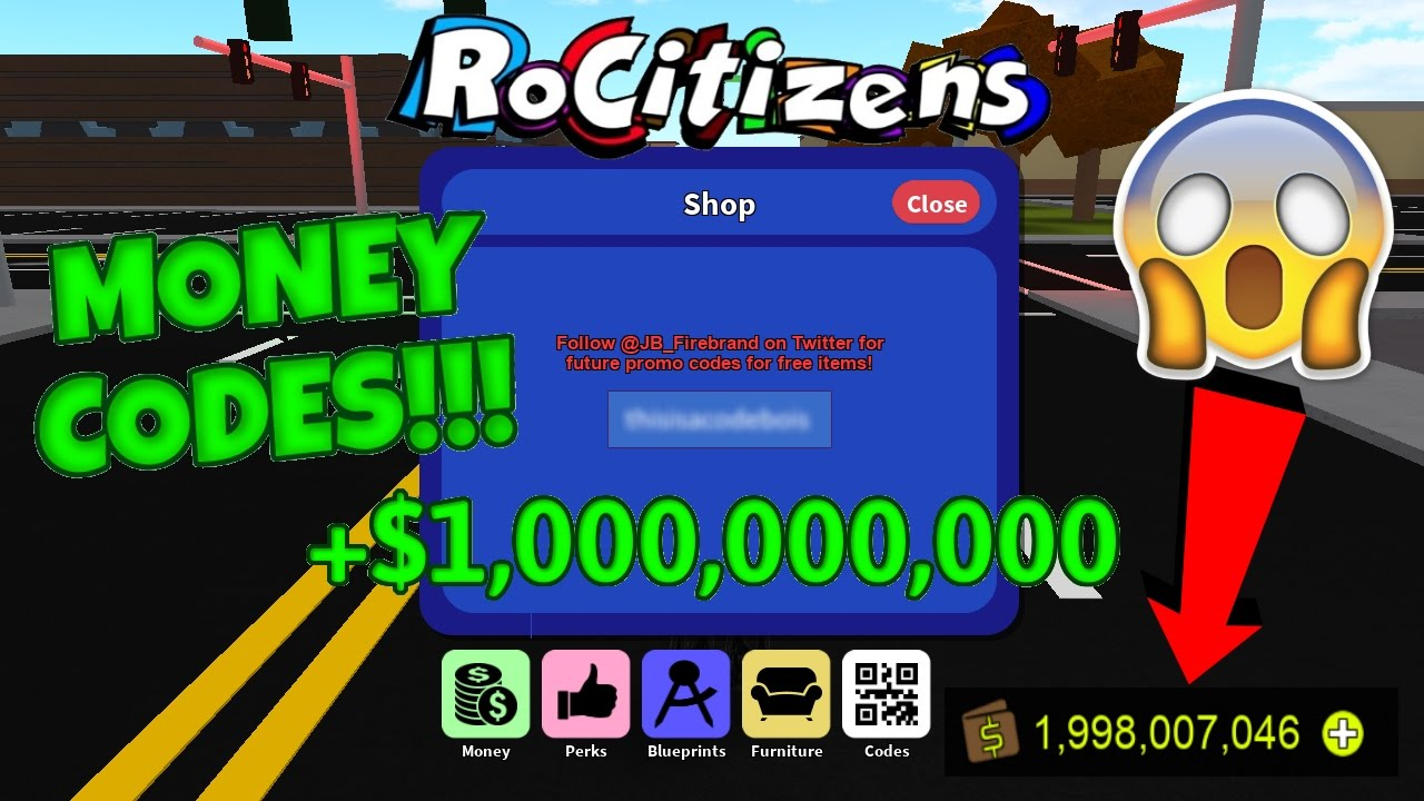 Rocitizens: NEW 1 MILLION MONEY CODE!?! [WORKING] [MARCH ...