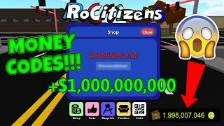 Rocitizens: NEW 1 MILLION MONEY CODE!?! [WORKING] [MARCH 2017] (Roblox)