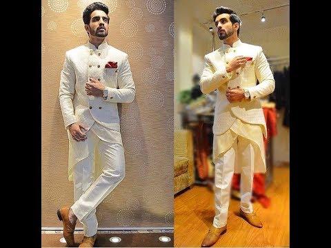 Latest stylish sherwani designs for mens 2017 | best wedding indo-western collection...
