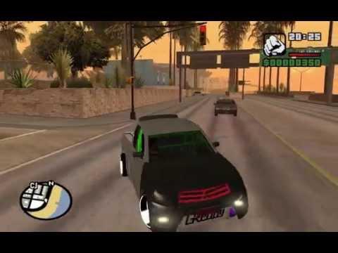 GTA San Mod ไทรทัน แต่งสวย กะบะเขียวโครตเท่