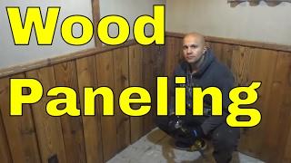 DIY-Removing Wood Paneling