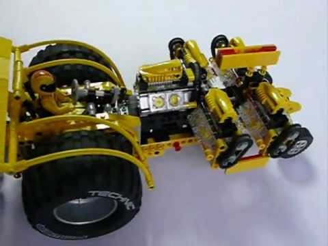 lego technic 8457 youtube. Black Bedroom Furniture Sets. Home Design Ideas