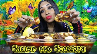 Shrimp and Scallop Seafood Boil from Great Alaska Seafood Plus Channel Shoutouts