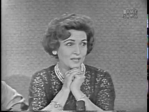 To Tell the Truth - Youngest woman judge; PANEL: Rita Gam, Betty White (Apr 17, 1961)