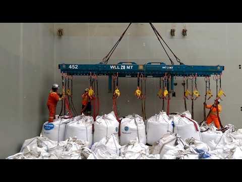 Fly Ash Bulk Bag Vessel Offload 2017