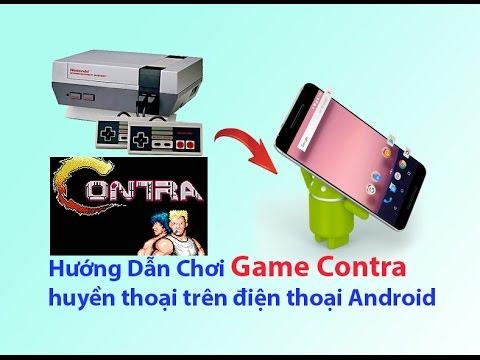 Hướng Dẫn Chơi Game Contra huyền thoại trên điện thoại Android