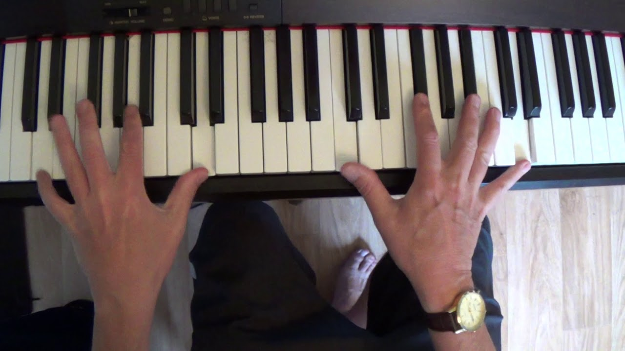 How To Play a Chunky Blues Piano Solo - Use This Bass