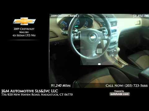 Used 2009 Chevrolet Malibu | J&M Automotive Sls&Svc LLC, Naugatuck, CT - SOLD