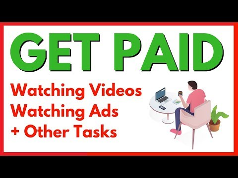 Get Paid Watching Videos Online And Make Money Watching Ads