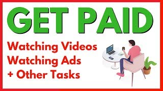 Online and make money watching ads ...