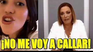 Frida Sofia responde al comunicado de Sylvia Pasquel y le deja un mensaje
