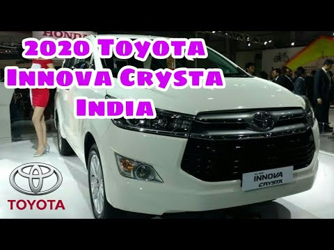 All New 2020 Toyota Innova Crysta India Launch Date Price Specs Colour Variants Features Youtube