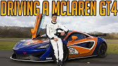 Driving a Mclaren Race Car at the Top Gear Test Track