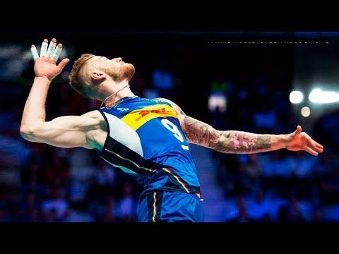 【バレーボール】伝説の3連続サービスエース!  ザイツェフのサーブ最強すぎ【スーパープレイ】Volleyball 3Aces - Ivan Zaytsev