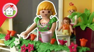 Playmobil Wohnhaus Film deutsch - Ein Tag mit Mama - Geschichte für Kinder von Familie Hauser