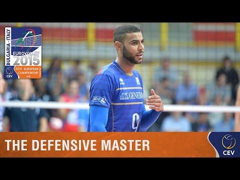VIDEO – La difesa impossibile del francese Earvin Ngapeth