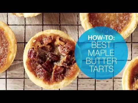 How To Make The Best Maple Butter Tarts   Canadian Living